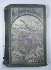 KARL MAY: VON BAGDAD NACH STAMBUL, Gesammelte Reiseromane III EA 1892 Fehsenfeld