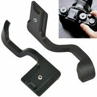 For Fuji Fujifilm X-T10 X-T20 X-T30 Mirrorless Camera Hot Shoe Metal Thumb Grip