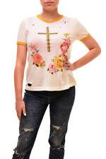 Wildfox Women's Authentic Confessional Shirt White Size S RRP £67 BCF84
