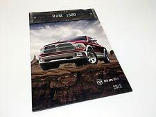 2012 Ram 1500 Pickup Brochure