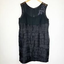 Adrianna Papell Embellished Tier Cocktail Dress Size 20W Evening