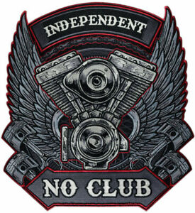 Biker patch /écussons rang /«no mercy mC club