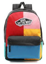 Vans School Bag Realm Backpack Patchwork Multi Colour Casual Rucksack laptop uni