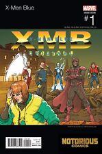 X-Men Blue #1 Hip Hop Variant Marvel Comics 1st Print
