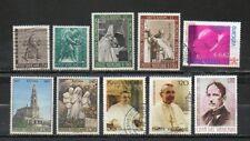 Europe_Vatican_lot de 10 timbres