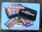 Heaven 57 Automotive  Playing Cards - Two Sets in Metal Box Used