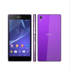 Débloqué Téléphone Sony Ericsson Xperia Z2 D6503 16GB Móvil 3G 4G LTE - pourpre