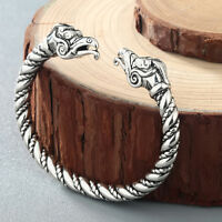 Top Quality Pagan Viking Dragon Bracelets for Men Women Cuff Bangle Gift Jewelry