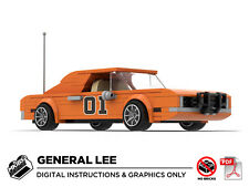 Lego MOC | Dukes of Hazzard General Lee | PDF Instructions (NO BRICKS)
