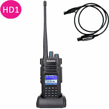 Ailunce  HD1 Dual Band DMR Digital DCDM TDMA 100000 Contacts WalkieTalkie&Cable