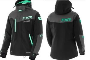 "FXR ""RENEGADE"" JACKET SNOWMOBILE WINTER COAT REMOVABLE LINER - MINT - PICK SIZE"