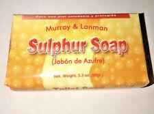 Sulphur Soap Murray & Lanman 3.3 Oz  - NEW