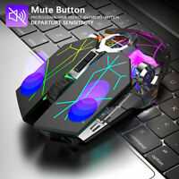 X13 Wireless Gaming Mouse 2.4G Wireless USB Rechargeable Backlight Mice