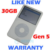 Apple IPOD CLASSIC - 5th Generation / 5G - 30GB - White - NEW Housing + Battery!