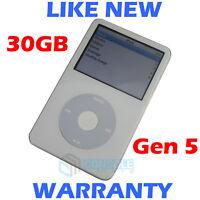 Apple IPOD CLASSIC - 5th Generation / 5G - 30GB - White - NEW Housing + Battery!