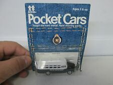Vintage Tomy Pocket Cars Police Bus No 116