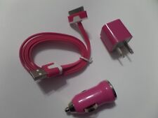 Wall, Car Charger and cord for Iphone 4, New in Bag.