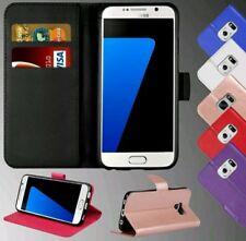 For Samsung Galaxy J5 2017 Genuine Leather Wallet Case License Slot Flip Cover