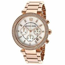 Michael Kors Stainless Steel Strap Chronograph Wristwatches