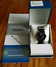 NOS Seiko SNE331 Solar Quartz Wrist Watch - Box & Papers