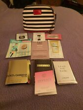 Sephora Makeup Bag With 10 Makeup, Skincare & Perfume Samples