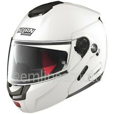 Casque Intégral Ouvrable Nolan N90.2 Special 15 Pure White - L