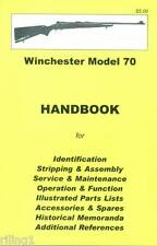 Winchester Model 70 Assembly, Disassembly Manual