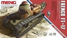 Meng Model 1/35 TS-008 French FT-17 Light Tank (Cast Turret)