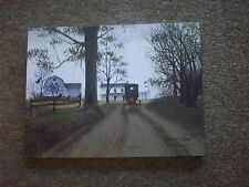 Heading Home Amish Buggy Canvas Print by Billy Jacobs
