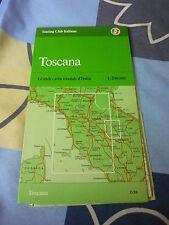 TOSCANA GRANDE CARTA STRADALE D' ITALIA Touring Club italiano