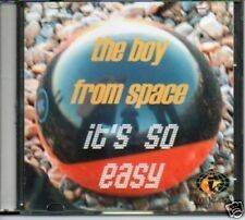 (O850) The Boy From Space, It's So Easy - DJ CD