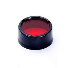 NiteCore NFR25 25.4mm Red Lens Filter Diffuser for SRT3 SRT5 EA1 EA2 EC1 EC2