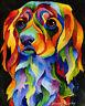 COCKER 8X10 DOG Print from Artist Sherry Shipley