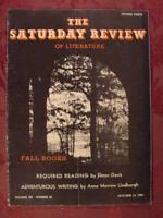 Saturday Review October 14 1939 ELMER DAVIS ANNE MORROW LINDBERGH ++