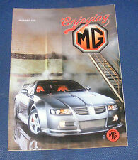 ENJOYING MG NOVEMBER 2002 VOLUME 23 NUMBER 11 - MGS IN RALLYING PART TWO
