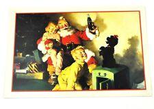 Coca-Cola Coca Cola USA Cartolina Cartolina natale Cartoline natale Santa 1964