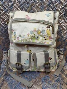 Le SportSac Backpack Artist in Residence Bagpack Beige Large Animals Baby Stuf