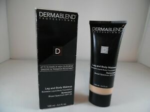 Dermablend Leg and Body Makeup, with SPF 25-Fair Ivory-Flawless Legs-3.4 Fl. Oz.