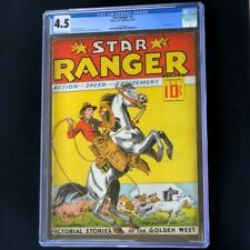 Lone Ranger #1 (1937) 💥 CGC 4.5 💥 1ST WESTERN COMIC! Harry A Chesler Centaur