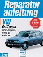 VW GOLF 3 Vento Reparaturbuch Reparaturanleitung Reparatur-Handbuch Wartung Buch