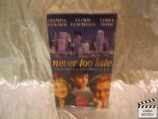 Never Too Late VHS Olympia Dukakis Cloris Leachman Corey Haim