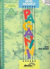 Partition+CD pour guitare - Michel Sigwalt - Paganini et Virtuosité