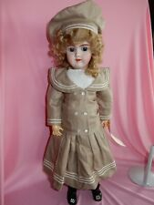 "Pretty 24"" Handerck Mold 109 Doll"