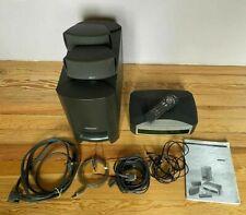 Bose Home Theater Media Center 321 Series I AV3-2-1, PS3-2-1 + Remote Working