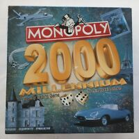 Monopoly 2000 Millennium Board Game Parker Brothers Unopened Contents New