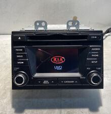 �� 2012 2013 Kia Optima Am Fm Cd Mp3 Radio Receiver Oem 96160-2T000Ca Jukebox