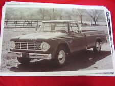 1965 DODGE D200 PICKUP TRUCK  BIG 11 X 17  PHOTO /  PICTURE
