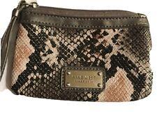NINE WEST Snakeskin Animal Print WRISTLET Clutch Purse Bag