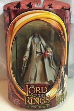 Lord of the Rings Two Towers Saruman The White Action Figure NIB Toy Biz