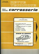(125) REVUE TECHNIQUE CARROSSERIE VOLKSWAGEN PASSAT